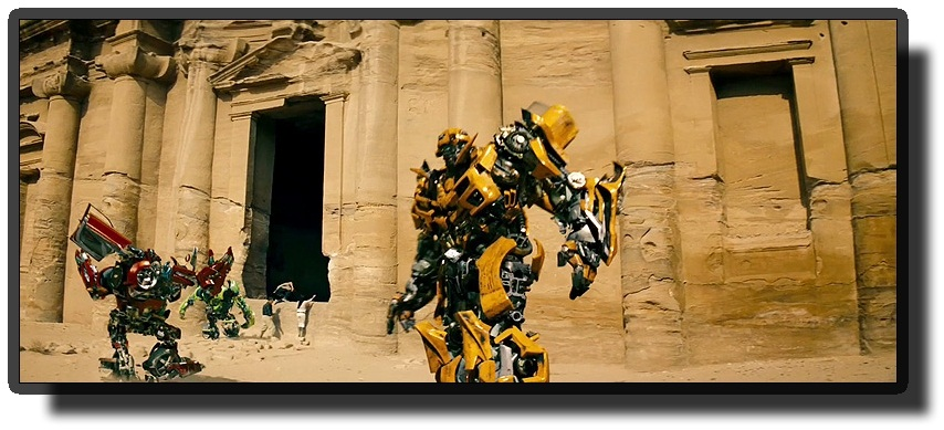 Movies filmed in jordan - Transformers: Revenge of the Fallen in Petra - Jordan
