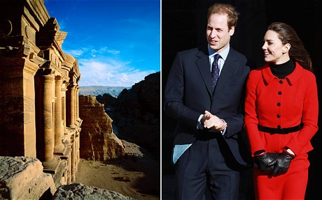 prince william and kate middleton Middle-Eastern honeymoon