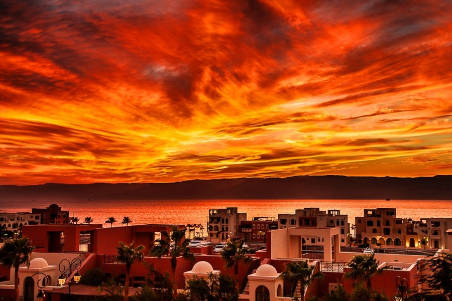 Aqaba sunset